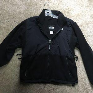 Black north face zip fleece